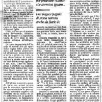 Articolo su Agida Cavalli Vandini (Nuova Ferrara).