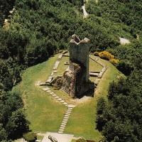 Monte Battaglia dall'alto.