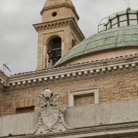 Cupola e campanile della chiesa di Santa Cristina oggi (foto dell'autore)