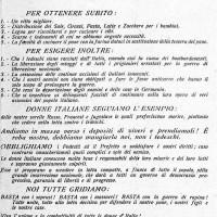Manifesto dei GDD per l'8 marzo 1945.