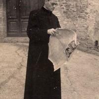 Don Giuseppe Cavalli, recluso nelle carceri di San Francesco tra l'aprile e il maggio 1944