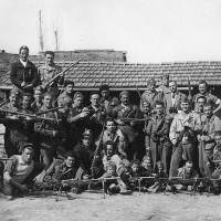 Una formazione partigiana a Montefiorino.