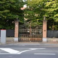 Il cancello della Villa Callegari Ghigi