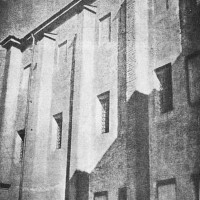Immagine d'epoca del carcere di San Francesco