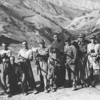 Partigiani a Pieve di Rivoschio (settembre 1944).