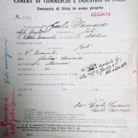 Registro ditte 1911-1925,Giulio Samaia (CCIAA)