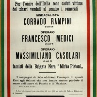Manifesto della Brigata nera.