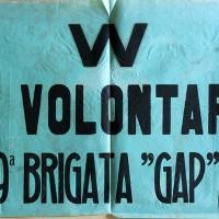 Volantino: W volontari GAP
