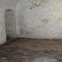 La cella dove furono rinchiusi Ezio Casadei e Primo Pasolini, liberati nel primo assalto alla Rocca
