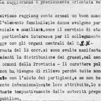 Documento fascista sulla giornata pre-insurrezionale del 13 aprile 1945.