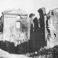 Le rovine dells chiesa di Gemmano.