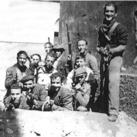 """Partigiani della brigata """"Parma Vecchia"""", aprile 1945"""
