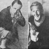 """Il capitano scozzese """"Mack"""" (Arcibald Mackenzie ) e l'irlandese """"Ganna"""" (Freschen Gregg) fuggiti dal campo di prigionia di Veano e rimasti a combattere nella Divisione val Nure"""