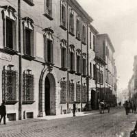 Cesena, Palazzo Mori (ex Venturelli) in Corso Garibaldi, demolito fra il 1950-1960, 1910 circa (BCM Fondo Dellamore, FDP 1029)