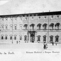 Palazzo Paolucci e Monastero del Corpus Domini (Biblioteca comunale di Forlì, Collezione Piancastelli)