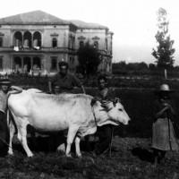 Villa Emma nel periodo in cui ospita i ragazzi ebrei.