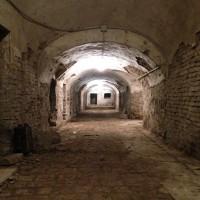 Catacombe della chiesa dell'Osservanza oggi 1di3 (foto dell'autore)