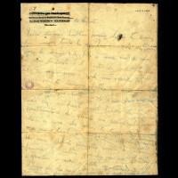 Lettera di addio di Adelio Pagliarani alla madre, 16 agosto 1944 (fronte)