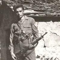 Partigiano Lucio Caccioli (Gino), 1a Brigata Julia.