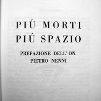 Controcopertina del libro di Corrado Saralvo - edizione Baldini e Castoldi, 1969