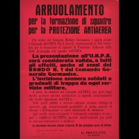 Manifesto per l'arruolamento nell'UNPA