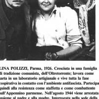 Lina Polizzi con altri due compagni partigiani