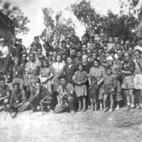 Foto storica di Ca' Malanca.