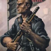 Manifesto di propaganda delle Brigate nere.