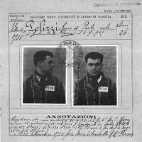 Remo Polizzi. Documento del carcere di Civitavecchia