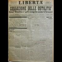 Prima pagina di Libertà