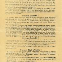 1943, volantini antifascisti