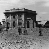 Esterno della Stazione ferroviaria (1944)