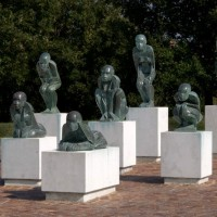 Parco Franco Agosto, Scultura di Carmen Silvestroni