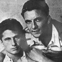 Dante Drusiani e Vincenzo Toffano, gappisti catturati nei rastrellamenti di Anzola e San Giovanni in Persiceto. Verranno fucilati nel dicembre 1944 a Sabbiuno di Paderno.