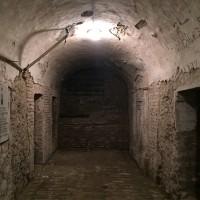 Catacombe della chiesa dell'Osservanza oggi 3di3 (foto dell'autore)