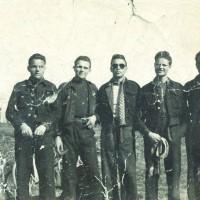 I componenti del primo gruppo di azione patriottica di Modena.