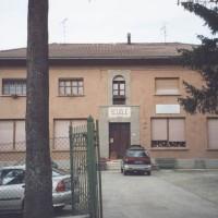 Le scuole di Frassinoro dove ebbe sede l'ospedale partigiano.