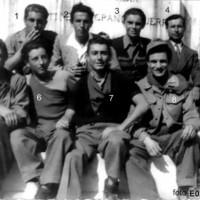 Giovani partigiani di San Secondo Parmense all'indomani della Liberazione.
