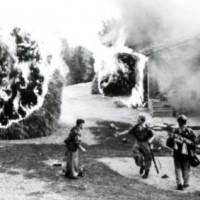 Le truppe di occupazione nazista nella zone circostanti a Fragheto.
