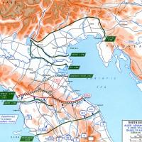 La linea difensiva Gengis Khan tra Bologna e Comacchio.