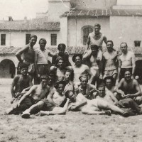 """Partigiani del distaccamento """"E. Griffith"""" catturati sul monte Montagnana, in detenzione alla Certosa di Parma"""