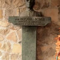 Busto di don Pasquino Borghi, Cà Marastoni