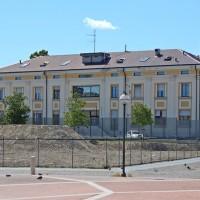 Ex Orsi mangelli, Palazzo degli uffici_2014 retro