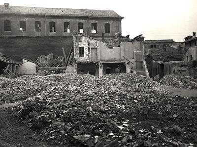 I luoghi del disastro. I bombardamenti in città