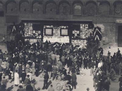 Sacrario dei partigiani di piazza del Nettuno