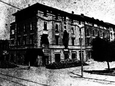 Piazza dell'Unità 5, angolo Via Tibaldi – Battaglia della Bolognina