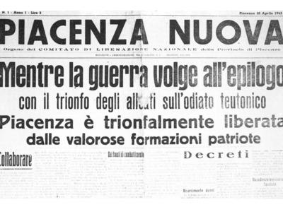 Piazza  dei Cavalli 1 – Piacenza medaglia d'oro alla Resistenza