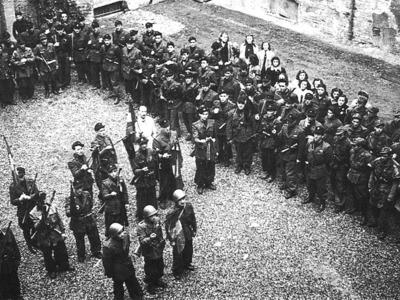 Sede del comando della XXVII brigata nera V. Gavazzoli