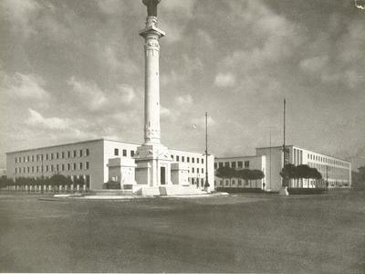 "Ex Collegio aeronautico ""Bruno Mussolini"" - Piazzale della Vittoria 8"