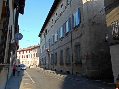Palazzo Paulucci di Calboli Dall'Aste - Via Piero Maroncelli 19